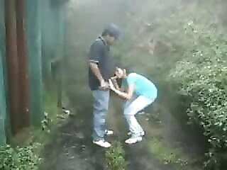 British Indian couple fuck in rain storm at hill station amateur voyeur indian